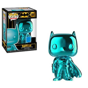 POP! - DC Series: Batman 80th Anniversary - Batman (Batman 1989 / Teal Chrome Version) EXC Funko Figura Funko Pop!