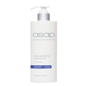 asap Daily Exfoliating Facial Scrub Supersize 300ml