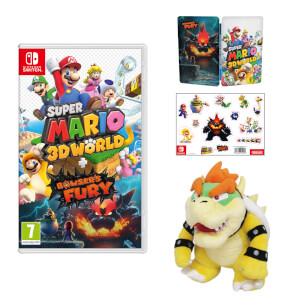 Super Mario 3D World + Bowser's Fury + Bowser Soft Toy