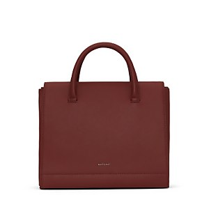 Matt & Nat Women's Adelsm Purity Satchel - Beet