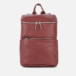 Matt & Nat Women's Brave Purity Backpack - Beet
