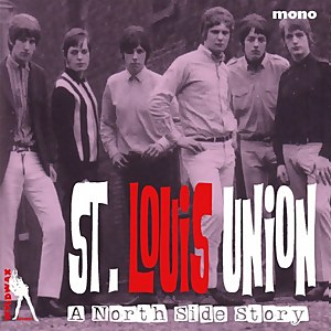 St. Louis Union - A North Side Story (Blue Vinyl) 10""