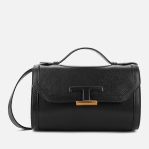 Tod's Women's Micro T Leather Shoulder Bag - Black