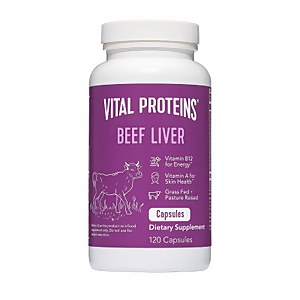 Beef Liver 120 Capsules