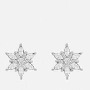 Olivia Burton Women's Ice Queen Snowflake Studs Silver - Silver