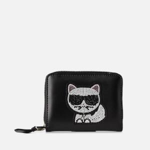 Karl Lagerfeld Women's K/Choupette Small Fold Wallet - Black