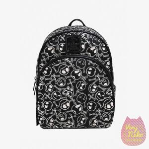 Loungefly Disney The Nightmare Before Christmas Jack Skellington Skull and Bones Mini Backpack - VeryNeko Exclusive