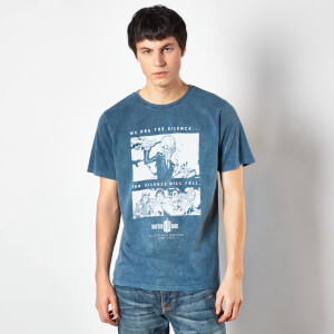 Doctor Who Eleventh Doctor Unisex T-Shirt - Navy Acid Wash