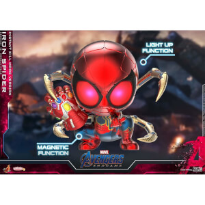 Hot Toys Cosbaby Marvel Avengers: Endgame - Iron Spider (Instant Kill Mode Version) Figure