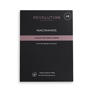 Revolution Skincare Biodegradable Clarifying Niacinamide Sheet Mask