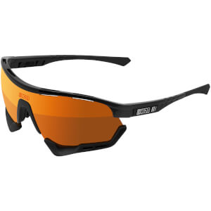 Scicon Aerotech Xl Road Sunglasses - Black Gloss