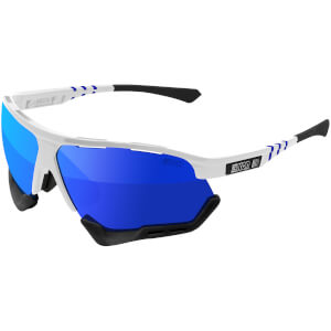 Scicon Aerocomfort Xl Road Sunglasses - White Gloss