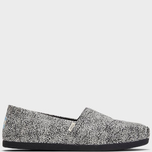 TOMS Women's Alpargata Printed Slip-On Pumps - Grey