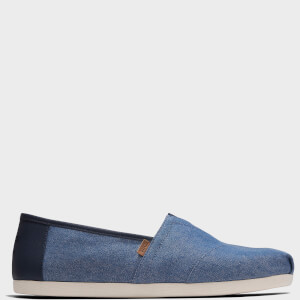 TOMS Men's Alpargata Slip-On Pumps - Navy