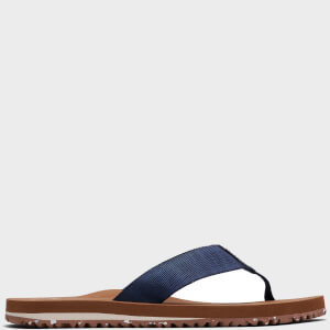 TOMS Men's Lagoon Sliders - Navy