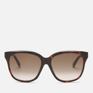 Gucci Women's Classic Acetate Sunglasses - Havana/Brown