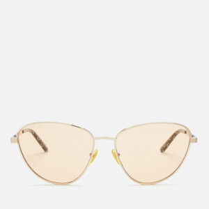 Gucci Women's Monogram Sunglasses - Gold/Orange