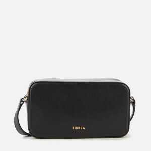Furla Women's Block Mini Cross Body Bag - Black