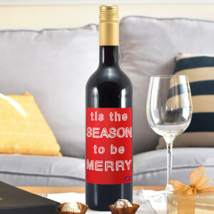 WotNot Creations 'Tis the Season to be Merry' Wine