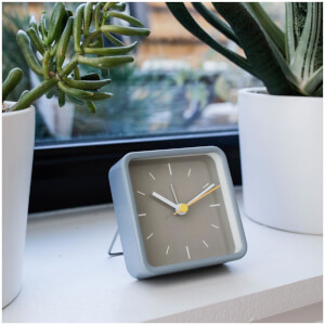 Alarm Clock With Stand - Grey