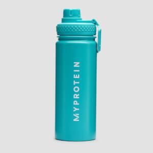 Myprotein Medium Metal Water Bottle 500ml - Blue