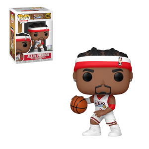 NBA Legends Philadelphia Sixers Allen Iverson Funko Pop! Vinyl