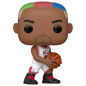 NBA Legends Dennis Rodman (Bulls Home) Pop! Vinyl Figure