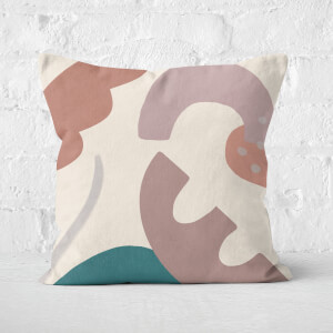 Yasmin Fatollahy Abstract Garden Square Cushion