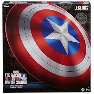 Hasbro Marvel Legends le Faucon et le Soldat de l'Hiver Captain America Role Play Bouclier