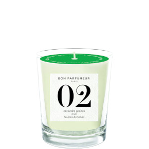 Bon Parfumeur 02 Seed of Coriander Honey Tobacco Leaf Candle 180g