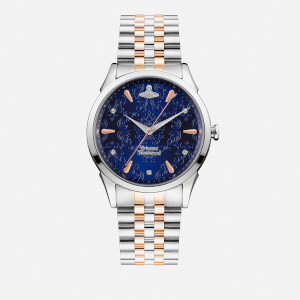 Vivienne Westwood Women's The Wallace Watch - Silver/Gold/Gold