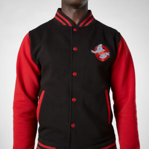 Ghostbusters Veste Teddy - Noir/Rouge