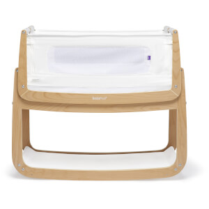 SnüzPod4 Bedside Crib - Natural