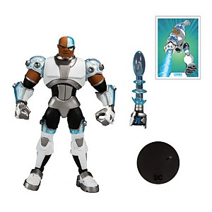 "McFarlane Toys DC Multiverse Animated 7"" Action Figures - Wv2 - Animated Cyborg Action Figure"