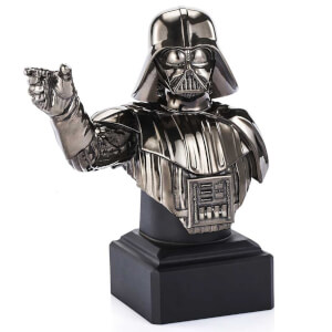 Royal Selangor Star Wars Limited Edition Black Darth Vader Bust