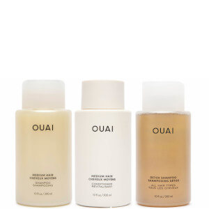 OUAI Medium Hair Detox Bundle