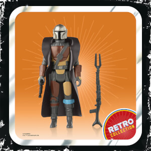 Figurine Le Mandalorien Hasbro Star Wars Retro Collection