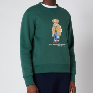Polo Ralph Lauren Men's Magic Fleece Polo Bear Sweatshirt - Washed Forest