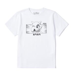 Pokémon Cubone Unisex T-Shirt - White