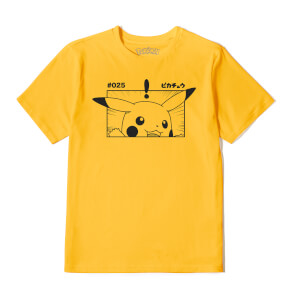 Pokémon Pikachu Unisex T-Shirt - Mustard