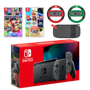 Nintendo Switch (Grey) Mario Mega Pack