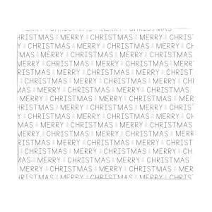 Merry Christmas Text Fleece Blanket