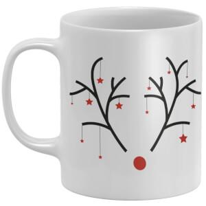 Christmas Antlers Mug