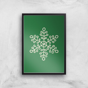 Snowflake Giclee Art Print