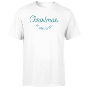 Christmas Is Cancelled Men's T-Shirt - White