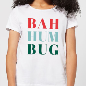 Bah Hum Bug Women's T-Shirt - White