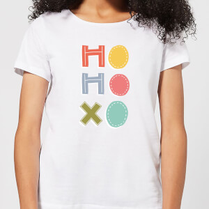 Ho Ho Xo Women's T-Shirt - White