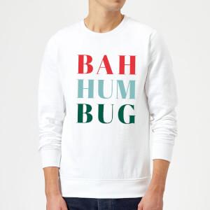 Bah Hum Bug Sweatshirt - White