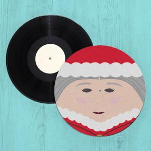 Santa Grandma Slip Mat