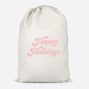 Happy Holidays Santa Sack